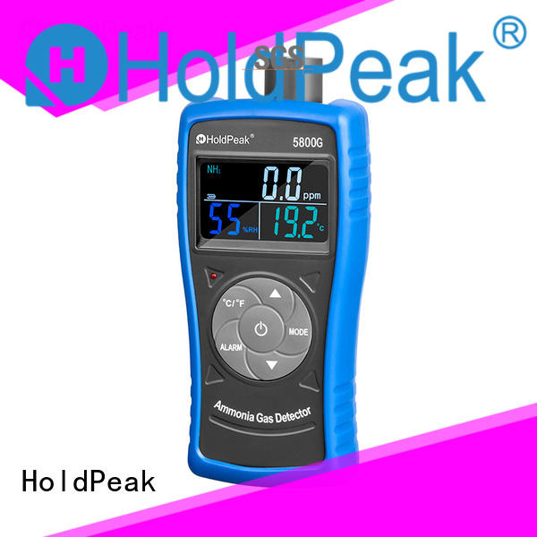 HoldPeak easy to use handheld formaldehyde meter measuring for home