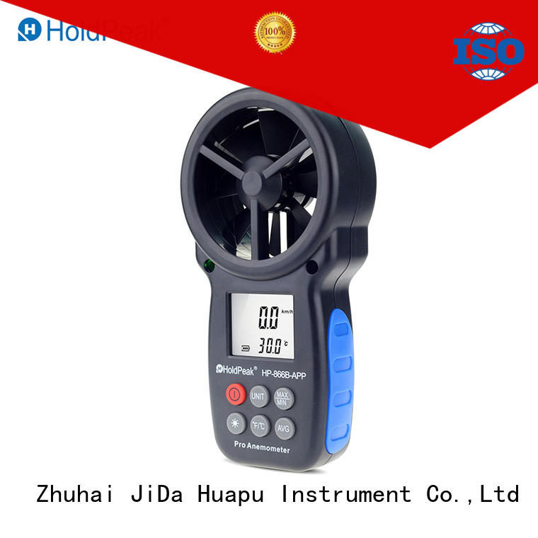 HoldPeak Top anemometer labeled diagram manufacturers for tower crane