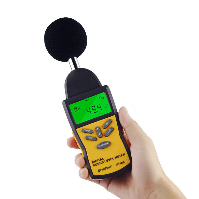 product-meter sound measuring instrument environment for measuring steady state noise HoldPeak-HoldP