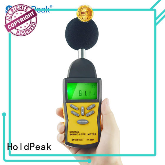 easy to use portable sound level meter sound factory for measuring steady state noise