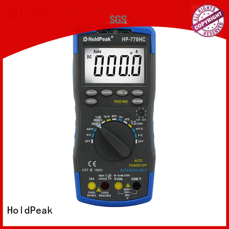 HoldPeak anti-dropping discount multimeters for business for electronic