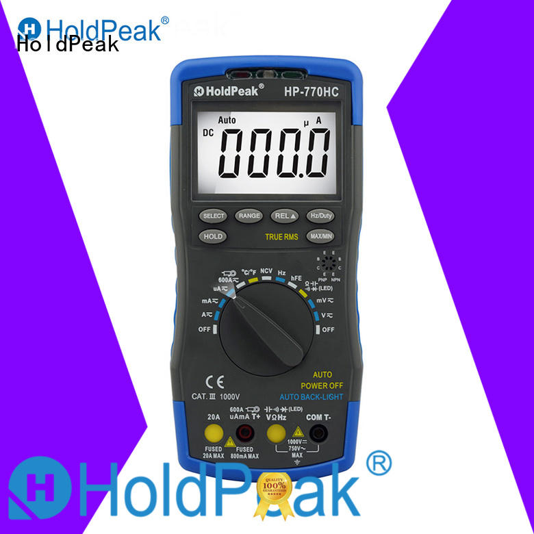 HoldPeak multimeterresistancediode auto electrical tester multimeter marketing for electronic