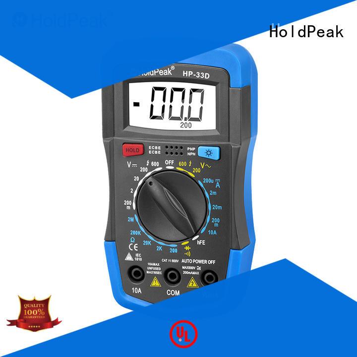 HoldPeak pen multimeter user manual for business for electronic