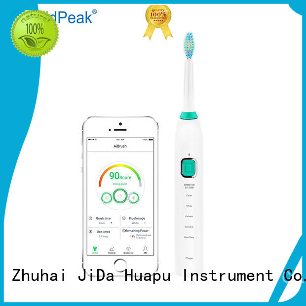 HoldPeak fashion design sonic power toothbrush shop now for cleaning