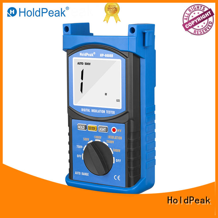 HoldPeak moisture-proof cheap insulation tester hp6688f for repair