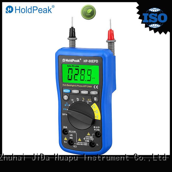 portable wind speed meter