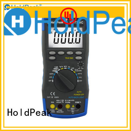HoldPeak excellent digital multimeter test company for electronic