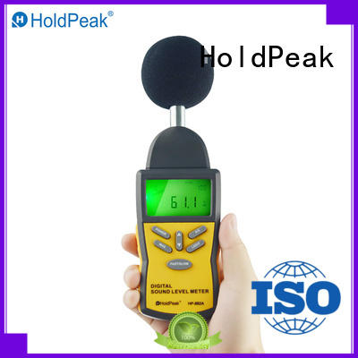 meter sound measuring instrument environment for measuring steady state noise HoldPeak