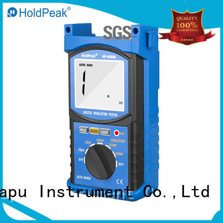 HoldPeak New cheap insulation tester factory for repair