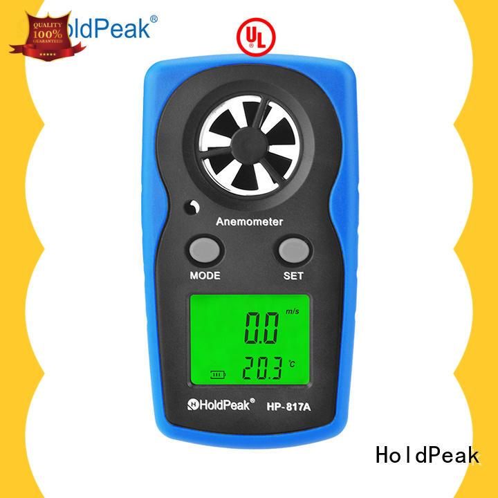 hand held wind meter hp846a for communcations HoldPeak