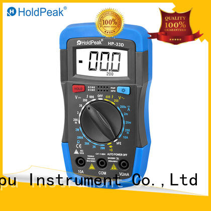 HoldPeak connect dc multimeter factory for electronic
